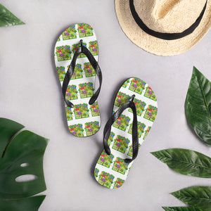 Conservative, USA, Trillion Trees Flip-Flops, Slippers - More94, Trump, Republican, Conservative, GOP, Patriotic Clothing