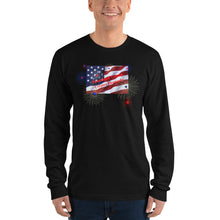 Load image into Gallery viewer, Republican, GOP, Patriotic, USA Shirt, Men's Long sleeve T-shirt - More94, Trump, Republican, Conservative, GOP, Patriotic Clothing, Apparel.