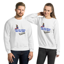 Load image into Gallery viewer, Patriots, Conservative, Republican Couples Sweatshirt, Unisex - More94, Trump, Republican, Conservative, GOP, Patriotic Clothing, Apparel.