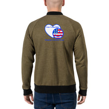 Load image into Gallery viewer, Bomber Jacket - More94, Trump, Republican, Conservative, GOP, Patriot Apparel