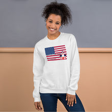 Load image into Gallery viewer, Republican, Christian, American Couples Sweatshirt, His and Hers - More94, Trump, Republican, Conservative, GOP, Patriotic Clothing