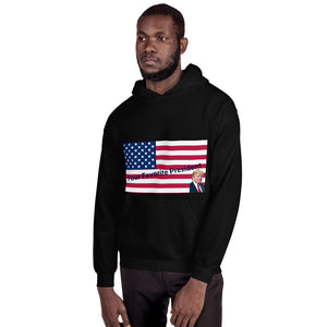 Trump, USA, GOP, Patriots, Mens Hoodie - More94, Trump, Republican, Conservative, GOP, Patriotic Clothing