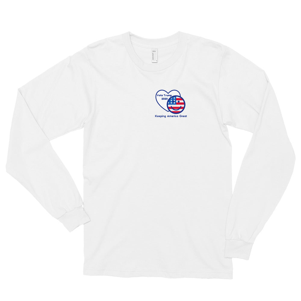 Patriots, Conservative, Republican Mens Shirt, Mens Long Sleeve T Shirt - More94, Trump, Republican, Conservative, GOP, Patriotic Clothing