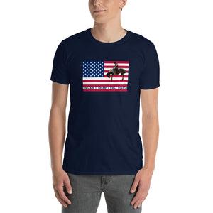 Trump, Patriots, Conservative Mens Short-Sleeve T Shirt, Shirt, Tee - More94, Trump, Republican, Conservative, GOP, Patriotic Clothing