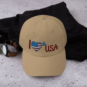 USA, Patriot, Republican, Dad Hat, Cap - More94, Trump, Republican, Conservative, GOP, Patriotic Clothing
