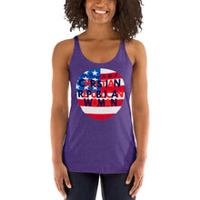 Load image into Gallery viewer, GOP, Republican, Christian Womens Shirt, T-Shirt, Racerback Tank - More94, Trump, Republican, Conservative, GOP, Patriotic Clothing