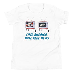 Trump, Patriots, Conservative Youth Shirt, Youth T-Shirt - More94, Trump, Republican, Conservative, GOP, Patriotic Clothing