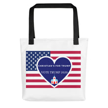 Load image into Gallery viewer, Christian, Republican, GOP Tote bag - More94, Trump, Republican, Conservative, GOP, Patriotic Clothing