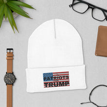 Load image into Gallery viewer, Patriots, USA, Trump, Hat, Cuffed Beanie, Beanie - More94, Trump, Republican, Conservative, GOP, Patriotic Clothing