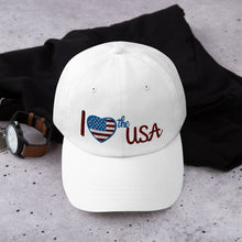 Load image into Gallery viewer, USA, Patriot, Republican, Dad Hat, Cap - More94, Trump, Republican, Conservative, GOP, Patriotic Clothing