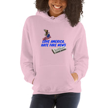 Load image into Gallery viewer, USA, Republican, Patriots, Pro America Womens Hoodie - More94, Trump, Republican, Conservative, GOP, Patriotic Clothing, Apparel.