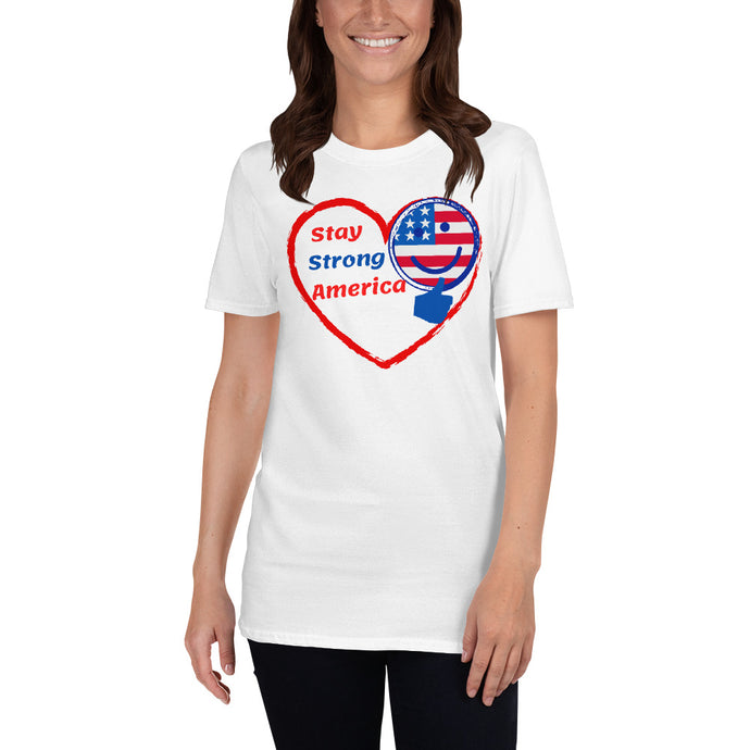 America, USA, Patriots, Womens T-Shirt, Ladies Tee - More94, Trump, Republican, Conservative, GOP, Patriotic Clothing