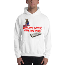 Load image into Gallery viewer, American, Patriots, Conservative, Mens Hoodie - More94, Trump, Republican, Conservative, GOP, Patriotic Clothing