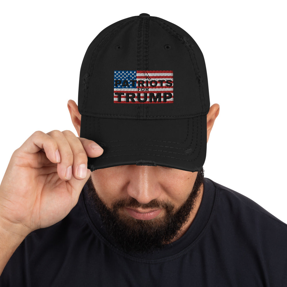 Conservative, Trump, America, Patriots, Hat, Distressed Dad Hat - More94, Trump, Republican, Conservative, GOP, Patriotic Clothing