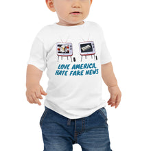 Load image into Gallery viewer, Trump, Patriots, Conservative Baby T-Shirt - More94, Trump, Republican, Conservative, GOP, Patriotic Clothing, Apparel.