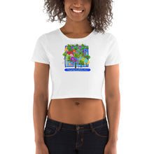 Load image into Gallery viewer, American, Trump, Conservative, GOP Shirt, Women's Crop Tee - More94, Trump, Republican, Conservative, GOP, Patriotic Clothing, Apparel.
