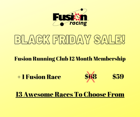 Black Friday Sale - FRC 12 Month Membership + 1 Race