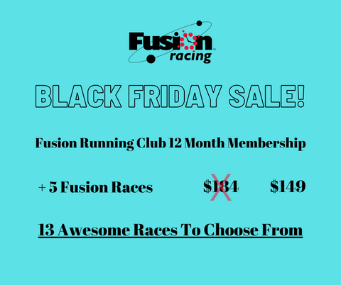 Black Friday Sale - FRC 12 Month Membership + 5 Races
