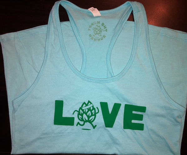 Hoppy LOVE - Women's Ideal Racerback Tank