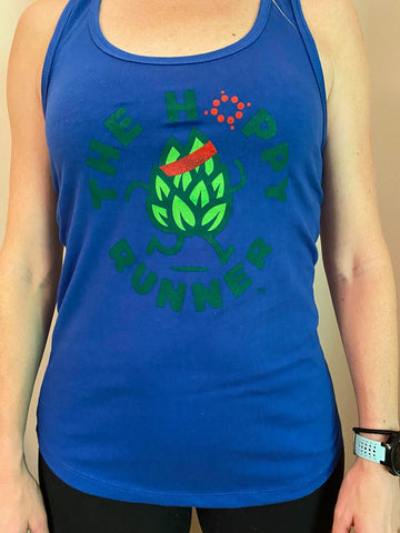 The Hoppy Runner - Women's Next Level Ideal T Blue