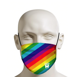 LEGION M - Face Mask - Rainbow Pattern