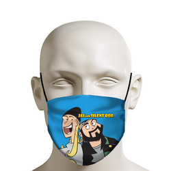 JAY & SILENT BOB REBOOT - Face Mask - Cartoon
