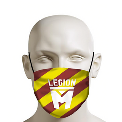 LEGION M - Face Mask - Pride (Red/Yellow)