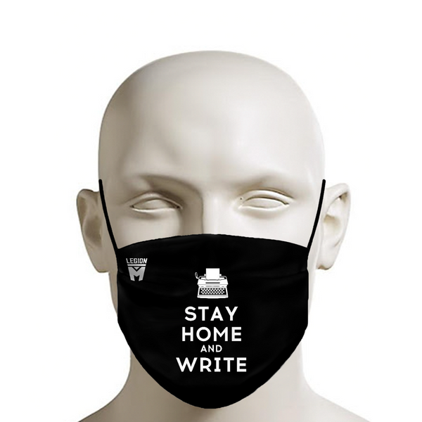 LEGION M - Face Mask - Write