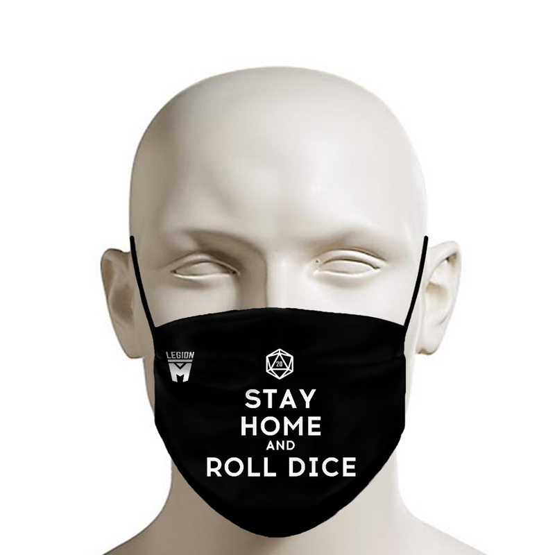 LEGION M - Face Mask - Roll Dice