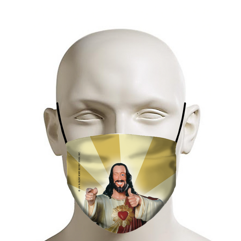 JAY & SILENT BOB REBOOT - Face Mask - Buddy Christ