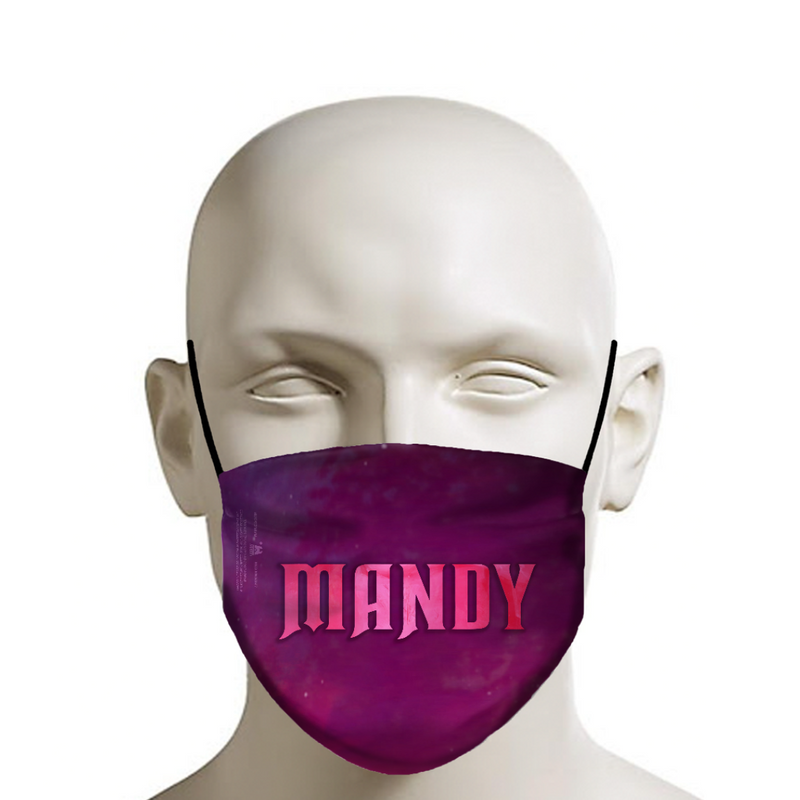 MANDY - Face Mask - Interstellar Logo