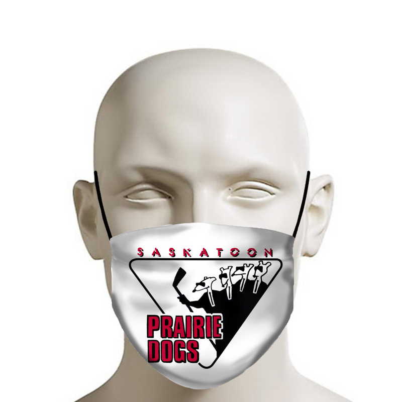 FACE MASK - Prairie Dogs logo