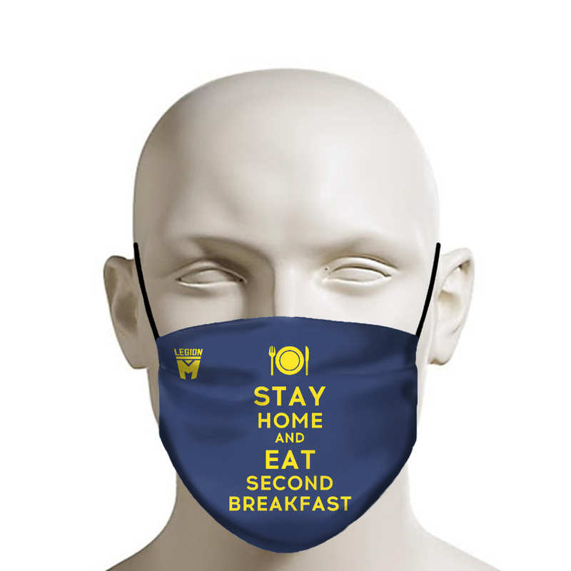 LEGION M - Face Mask - Second Breakfast On Blue