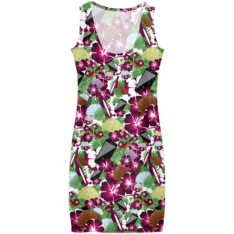 Save Yourselves! - Hawaiian Pouffe All Over Print - Dress (PRE-ORDER)