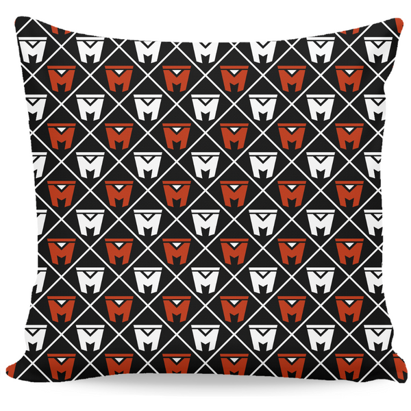 LEGION M - Diamond Logo Pattern - Throw Pillow (PRE-ORDER)
