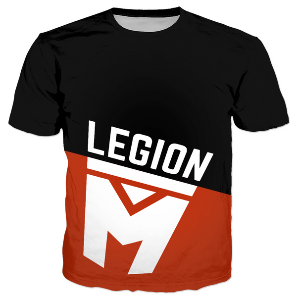 LEGION M - Color Blocked Logo - Unisex Tee (Pre-Order)