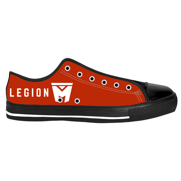 Legion M - Red with White Logo - Shoes (Pre-Order)
