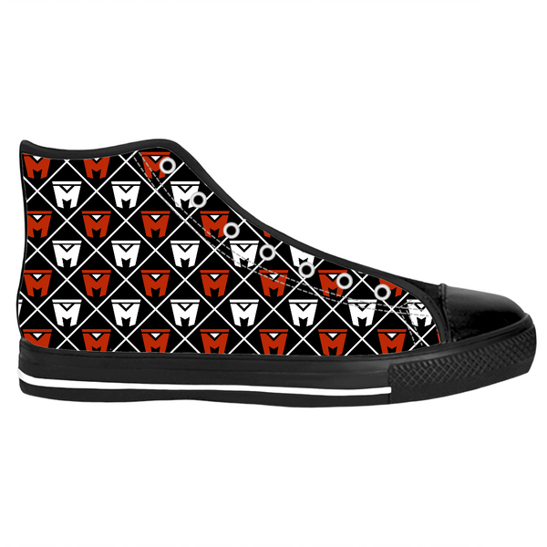 Legion M - Diamond Logo Pattern - High-Top Shoes (Pre-Order)