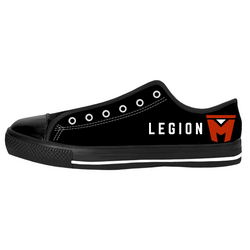 LEGION M - BLACK WITH COLOR LOGO - SHOES (PRE-ORDER)