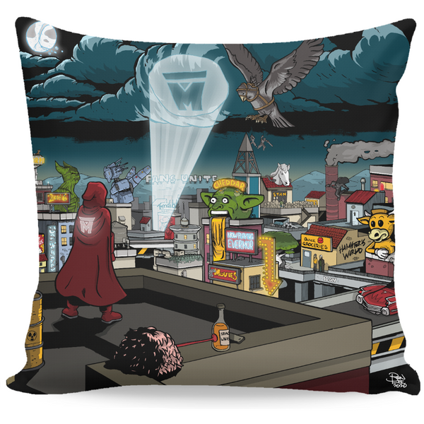 LEGION M - 2020 Spotlight Art - Throw Pillow (PRE-ORDER)