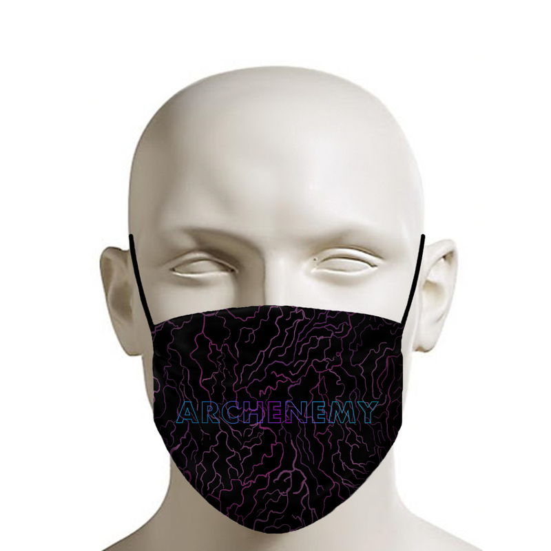 ARCHENEMY - CAPE PATTERN TITLE - FACE MASK