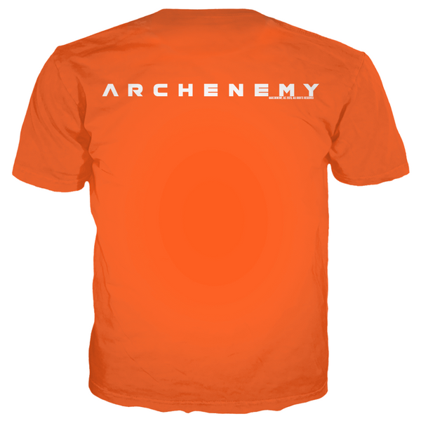 ARCHENEMY - TRENDIBLE CAT - ORANGE TEE