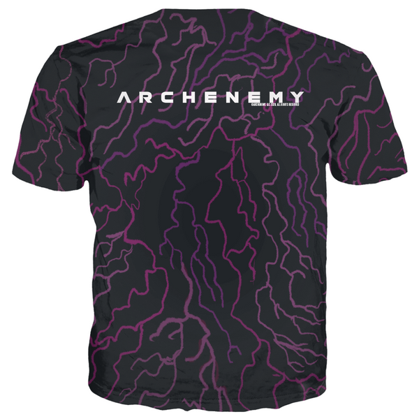 ARCHENEMY - CAPE PATTERN FLYING - ALL OVER PRINT TEE