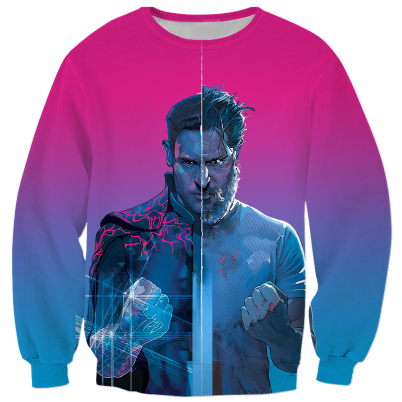 ARCHENEMY - MAX FIST OMBRE - ALL OVER PRINT PULLOVER SWEATER
