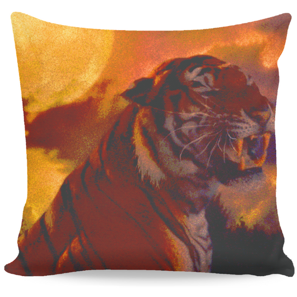 MANDY - LIZZIE THE TIGER FRAME - THROW PILLOW