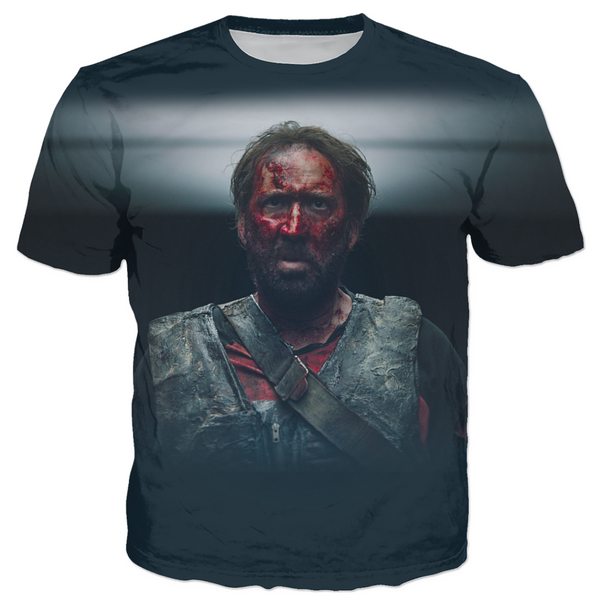 MANDY - RED MILLER BATTLE ARMOR - ALL OVER PRINT TEE