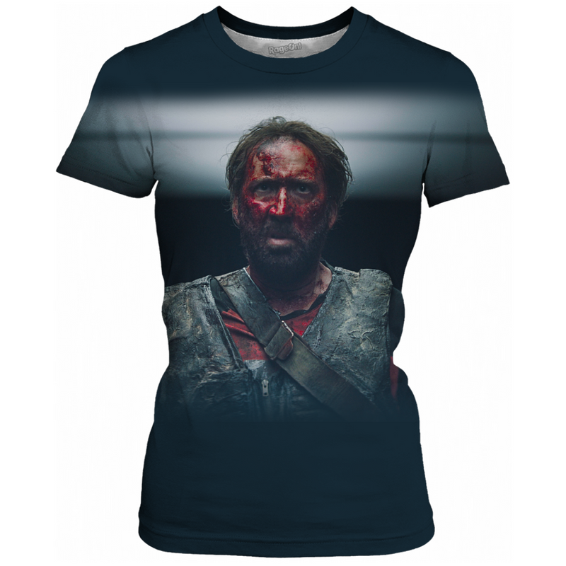 MANDY - RED MILLER BATTLE ARMOR - ALL OVER PRINT WOMEN'S TEE