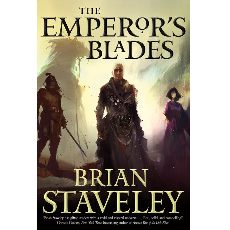 CHRONICLE OF THE UNHEWN THRONE - The Emperor's Blades: Autographed Book 1