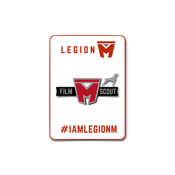 LEGION M - Film Scout Silver Pin