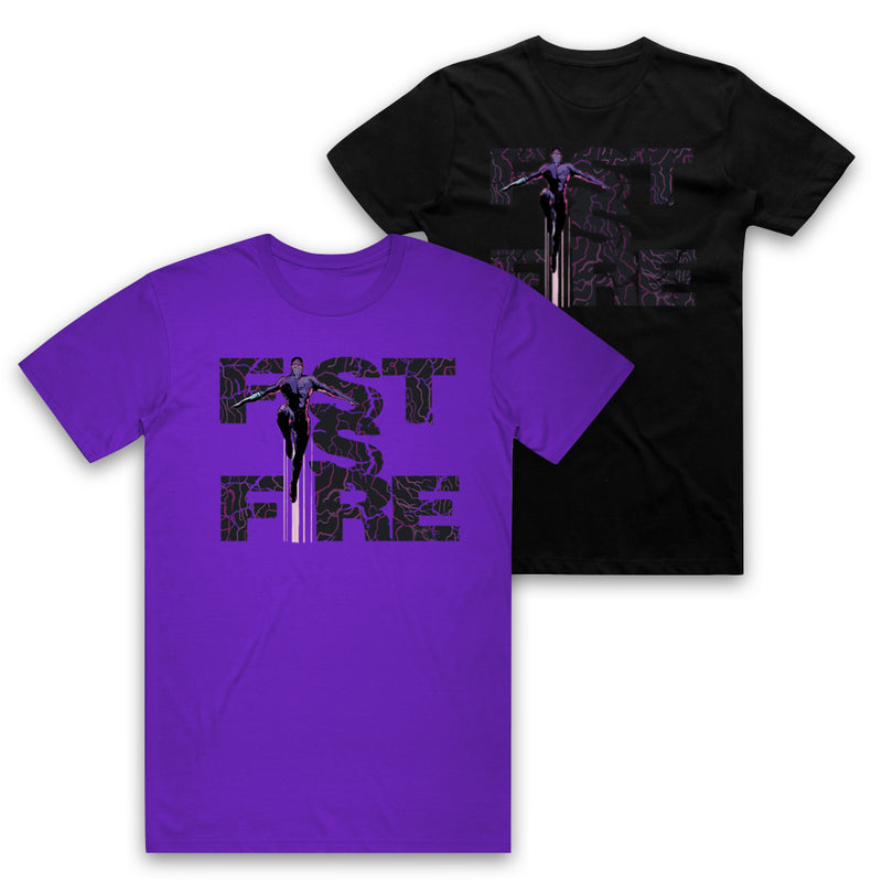 ARCHENEMY - Fist Is Fire Tee